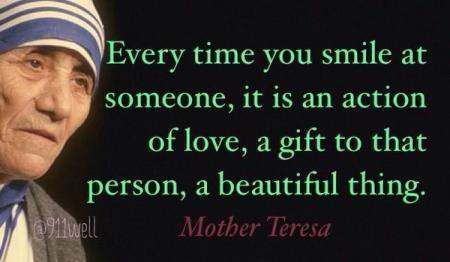 Mother Teresa Words Of Wisdom 1
